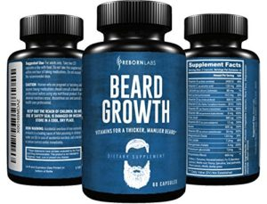 beard growth products supplements