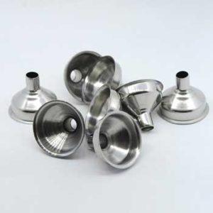 funnels for beard oil