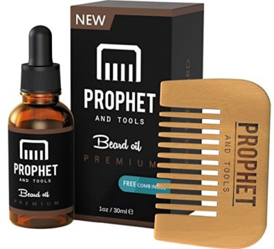 prophet and tools beard oil review